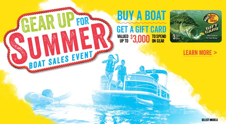 2017 Gear Up for Summer Boat Sales Event